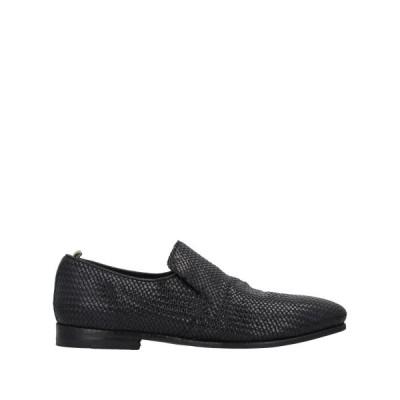 OFFICINE CREATIVE ITALIA モカシン ファッション  メンズファッション  メンズシューズ、紳士靴  モカシン ブラック