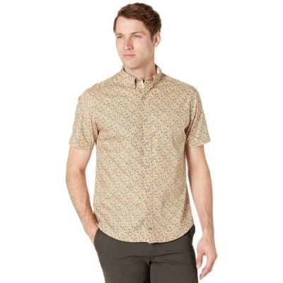ジョンストンアンドマーフィー メンズ シャツ トップス Avocado Print Shirt