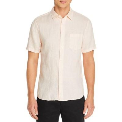 ヴィンス メンズ シャツ トップス Slim Fit Optic White Shirt
