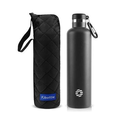 FJbottle 1リットル ステンレスボトル 真空断熱 保温保冷 水筒 第2世代 直飲み スポーツボトル 漏れなし NeoGuerrier?