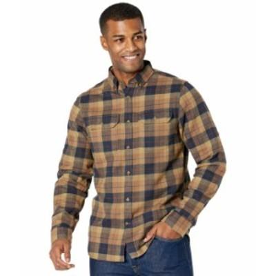 フェールラーベン メンズ シャツ トップス Sarek Heavy Flannel Shirt Dark Sand