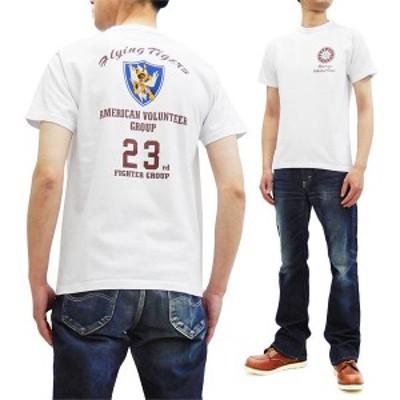 バズリクソンズ Tシャツ BR78541 フライングタイガース Buzz Rickson 東洋 メンズ 半袖tee ホワイト 新品