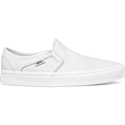 バンズ スニーカー シューズ レディース Vans Women's Asher Shoes True White