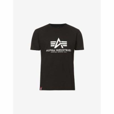 アルファ インダストリーズ ALPHA INDUSTRIES メンズ Tシャツ コットンジャージー コットン トップス Kryptonite Branded Cotton-Jersey