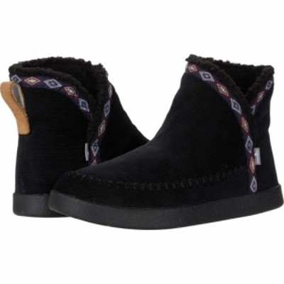 サヌーク Sanuk レディース ブーツ シューズ・靴 Nice Bootah Cord Black