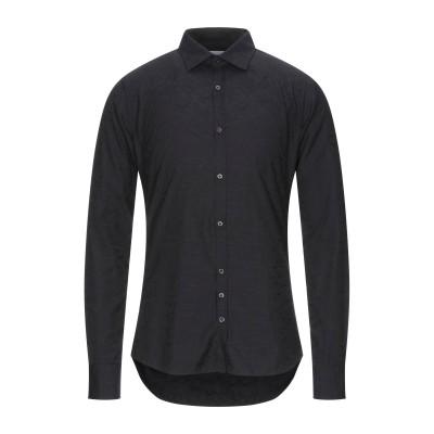 アリーニ AGLINI シャツ ブラック 40 コットン 100% シャツ