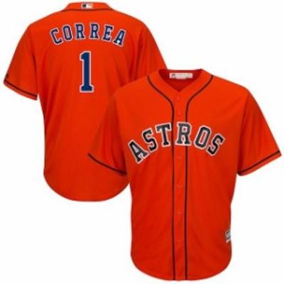 Majestic マジェスティック スポーツ用品  Majestic Carlos Correa Houston Astros Orange Cool Base Player Jersey