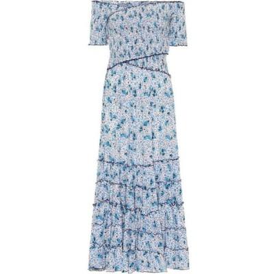 プーペット セント バース Poupette St Barth レディース ワンピース マキシ丈 ワンピース・ドレス Exclusive to Mytheresa - Soledad floral maxi dress