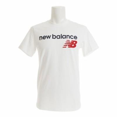 ニューバランス(new balance)アスレチックスメインロゴTシャツ AMT73581WT オンライン価格(Men's)