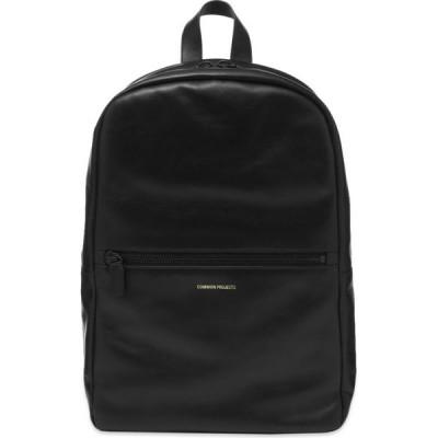 コモン プロジェクト Common Projects メンズ バックパック・リュック バッグ Simple Backpack Black