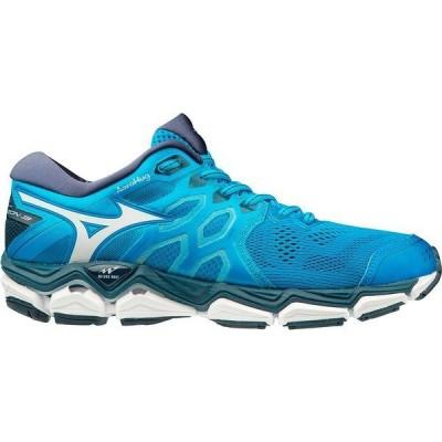 ミズノ スニーカー シューズ メンズ Mizuno Men's Wave Horizon 3 Running Shoes Brilliant Blue/Cloud