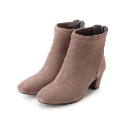 grove / 【人間工学】バックジップストレッチブーツ WOMEN シューズ > ブーツ