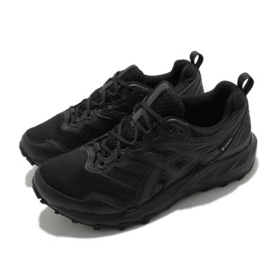 Asics 慢跑鞋 Gel-Sonoma 6 GTX 男鞋 亞瑟士 路跑 防水 野跑 緩衝 抓地 黑 1011B048002