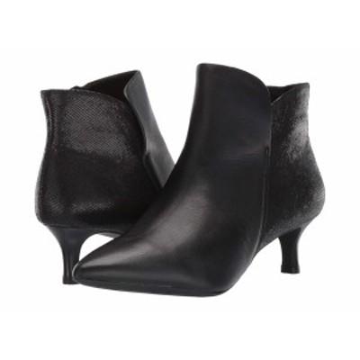 ロックポート レディース ブーツ&レインブーツ シューズ Total Motion Alaiya Plain Boot Black Leather