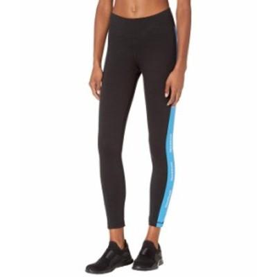 リーボック レディース カジュアルパンツ ボトムス Training Essentials Linear Logo Leggings Black