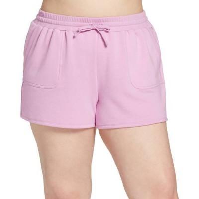 DSG レディース ハーフパンツ・ショーツ ボトムス DSG Women's Plus Size Fleece Shorts