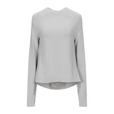 メゾン マルジェラ MAISON MARGIELA T シャツ ライトグレー 42 レーヨン 95% / ポリウレタン 5% T シャツ