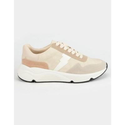 MI.IM レディース スニーカー シューズ・靴 Pamela Pointed Toe Platform Sneakers BEIGE COMBO