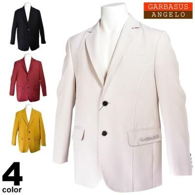SALE 30%OFF アンジェロガルバス ANGELO GARBASUS テーラードジャケット メンズ 秋冬 ロゴ シンプル 95-4101-03
