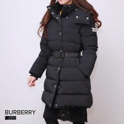 バーバリー BURBERRY ダウン レディース アウター デタッチャブル ベルテッド ブラック XS / S / M / L 80186901