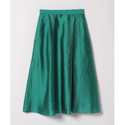 【アルアバイル/allureville】 トリアセキュプラタックフレアースカート