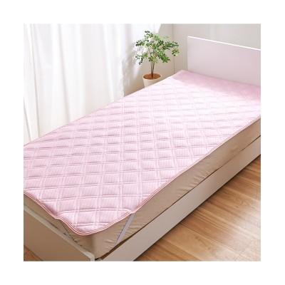 カラーが選べる接触冷感!ジャガード市松織り素材の敷きパッド 敷きパッド・敷パッド, ベッドパッド, Bed pats(ニッセン、nissen)