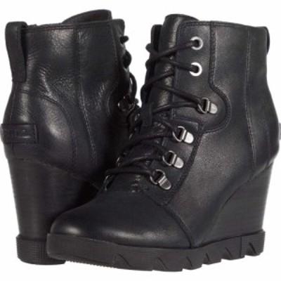 ソレル SOREL レディース ブーツ シューズ・靴 Joan Uptown Lace Black