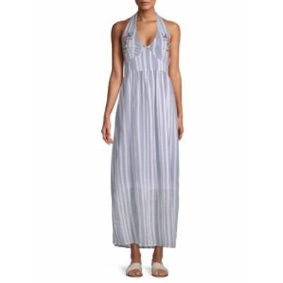 ラーガ レディース ワンピース Setting Sail Cotton Halter Dress