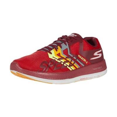 Skechers (スケッチャーズ) Go Run Razor 3 スニーカー メンズ US サイズ: 6.5 Women/5 Men カラー: レッ