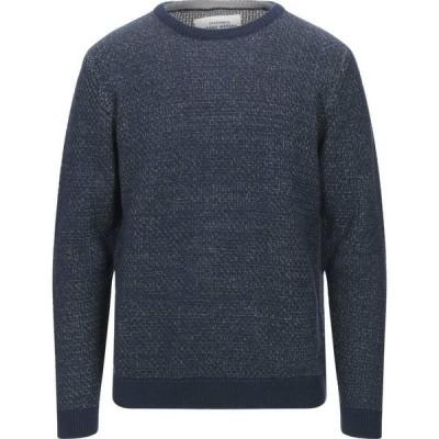 オンリーアンドサンズ ONLY & SONS メンズ ニット・セーター トップス sweater Dark blue