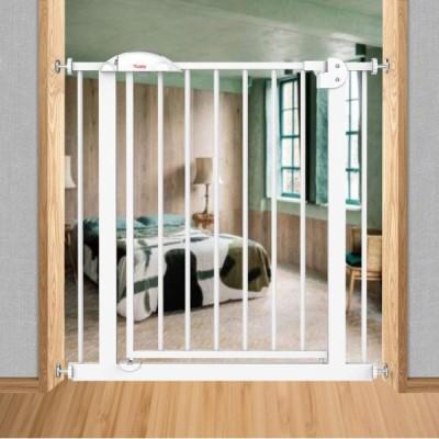 Ycozy BabySafe ペットゲート 子供安全ゲート 鉄製ゲート 寝室/キッチン/階段/玄関/ベランダ 子供(6ヶ月〜3歳)/犬/猫 壁に穴を開けず 高さ77cm 取付可能幅75-8