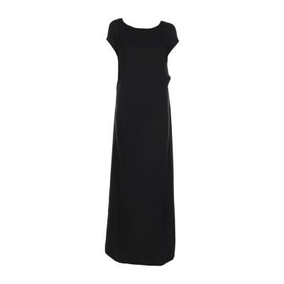 ヴァレンティノ VALENTINO ロングワンピース&ドレス ブラック 36 シルク 100% ロングワンピース&ドレス