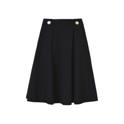 JOLIE by EDWARD SPIERS ひざ丈スカート ブラック M ポリエステル 95% / ポリウレタン 5% ひざ丈スカート
