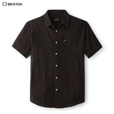 BRIXTON ブリクストン トップス シャツ CHARTER OXFORD S/S WOVEN オックスフォードシャツ 無地 半袖シャツ
