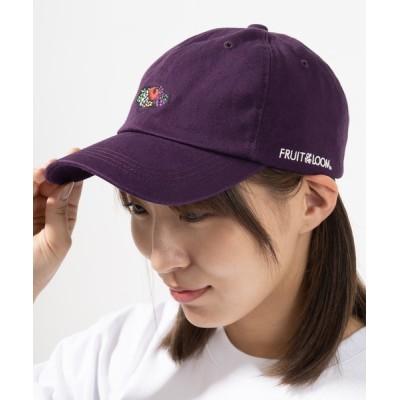 SlashDate / 【FRUIT OF THE LOOM/フルーツオブザルーム】 ブランドロゴエンブレムローキャップ WOMEN 帽子 > キャップ