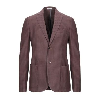 ボリオリ BOGLIOLI テーラードジャケット ココア 48 バージンウール 97% / ポリウレタン 3% テーラードジャケット