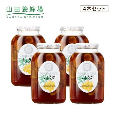 山田養蜂場 しょうがはちみつ漬 <900g×4本>