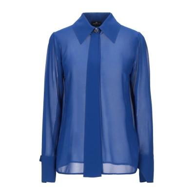ELISABETTA FRANCHI シャツ ブルー 42 ポリエステル 100% シャツ