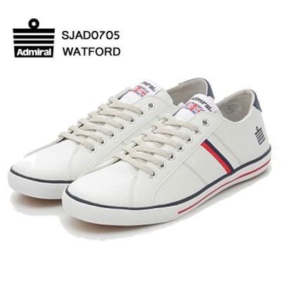 Admiral アドミラル WATFORD ワトフォード ユニセックス スニーカー ホワイト 白 トリコロール 靴 SJAD0705-14