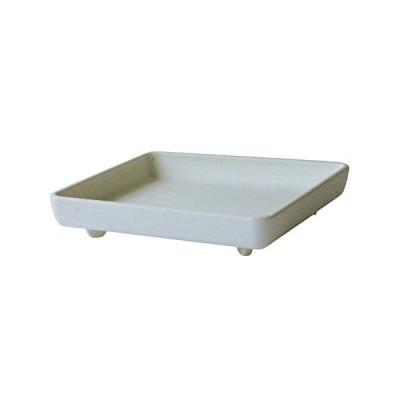 八幡化成 パピエ エコプレート角型 150 ホワイト