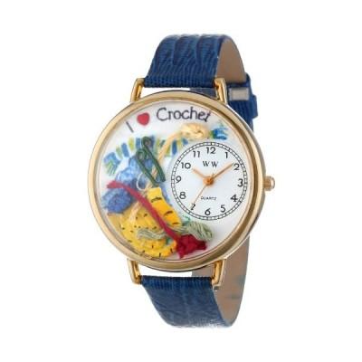腕時計 気まぐれなかわいい プレゼント WHIMS-G0450011 Whimsical Gifts Crochet Watch in Gold Lar