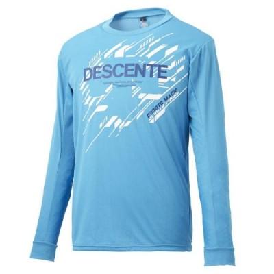 デサント メンズ 長袖Tシャツ DRMPJB54-BL <2020NEW>