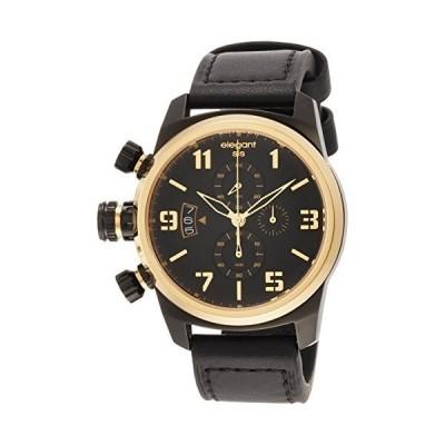 エレガントシス 腕時計 ELJT48S-OG07LC 正規輸入品 ブラック