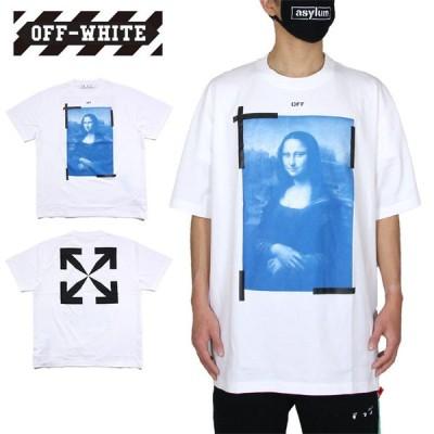 ポイント10倍 オフホワイト Tシャツ OFF-WHITE 半袖Tシャツ メンズ レディース ブランド 大きいサイズ 白 BLUE MONALISA S/S OVER TEE