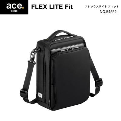 エースジーン(ace. GENE LABEL) FLEX LITE Fit フレックスライトフィット 54552 3L ショルダーバッグ メンズ
