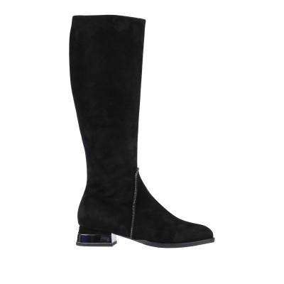 VERDECCHIA & MAINQUA' ブーツ ブラック 36 革 ブーツ