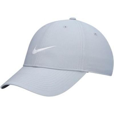 ナイキ メンズ 帽子 アクセサリー Nike Golf Legacy 91 Tech Performance Adjustable Hat Gray