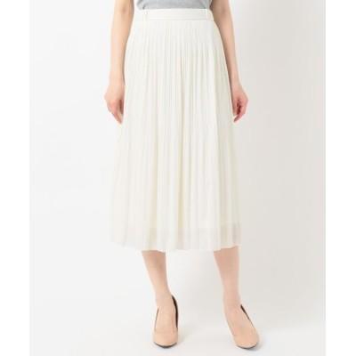 any SiS/エニィスィス 【美人百花11月号掲載】チュールプリーツ スカート アイボリー系 3