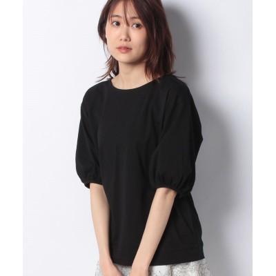 【プレフェリール】 ボリュームスリーブTシャツ レディース ブラック 40 PREFERIR