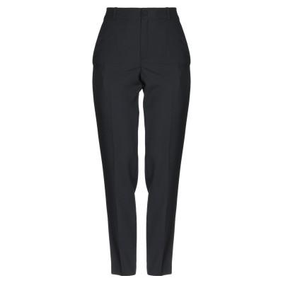 ランバン LANVIN パンツ ブラック 34 ウール 100% / レーヨン / アセテート パンツ